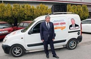 Bağımsız Belediye Başkanı Güven'in cenazesi...