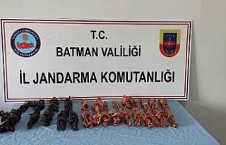 Batman'da kablo hırsızları yakalandı