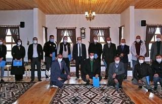 Bayburt Üniversitesi Bilgi Evi'ne bağışta bulunanlara...