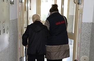 Büyükşehir verdiği hizmetler ile yaşlı ve engelli...
