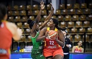 Euro Cup Women Basketbol: Uni Györ: 72 - Bellona...