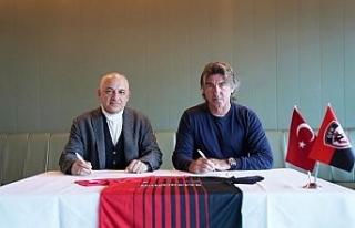 Gaziantep FK, Teknik Direktör Ricardo Sa Pinto ile...