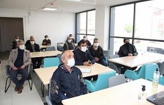 Gebze Barınma Merkezi'nde virüs salgınına karşı...