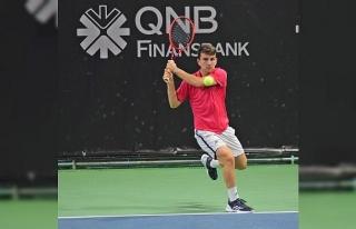 Istanbul Indoor Challenger'da Ergi Kırkın'ın...