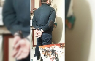 İzmir'deki organize suç örgütüne yönelik operasyonda...