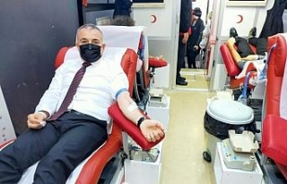 Kdz. Ereğli Kızılay kan bağışı kampanyası...