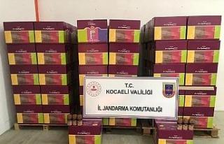 Kocaeli'de 150 bin TL değerinde sahte deodorant...