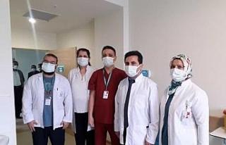 Korona virüs aşısı Başhekim Çağlar'a uygulandı
