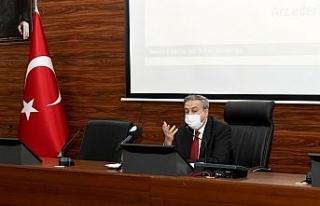 Mersin'de İl Afet Risk Azaltma Planı hazırlık...