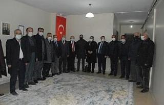 MHP heyetinden Kadim Aşiretler Federasyonuna ziyaret