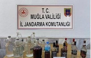 Ortaca'da kaçak içki operasyonu