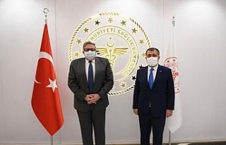 Sağlık Bakanı Koca, Rusya Federasyonu Ankara Büyükelçisi...