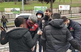 Samsun'da sokağa çıkma uygulaması