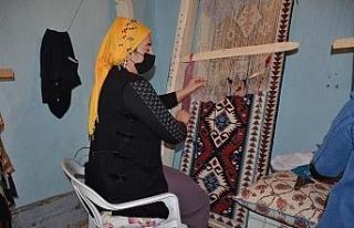 Şırnak'ta jirki kilimi kadınlara ekmek kapısı...