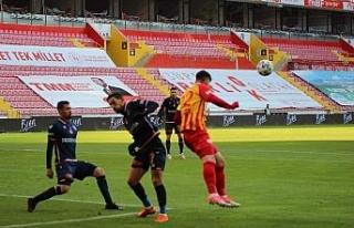 Süper Lig: Kayserispor: 2 - Medipol Başakşehir:...