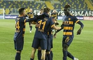 Süper Lig: MKE Ankaragücü: 1 - Kasımpaşa: 0 (Maç...
