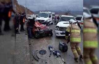 Tunceli-Elazığ karayolunda trafik kazası: 2 ölü,...
