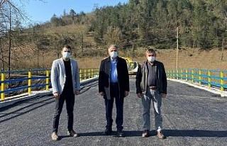 Çiğdemli Köprüsü ulaşıma açılıyor