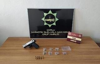 Çorlu'da uyuşturucu madde satıcılarına operasyon