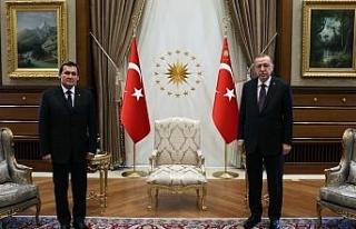 Cumhurbaşkanı Erdoğan Türkmenistan Dışişleri...