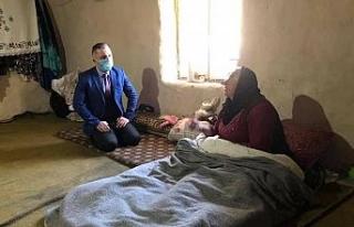 Kaymakam Solmaz hasta, engelli ve yaşlı vatandaşlarla...