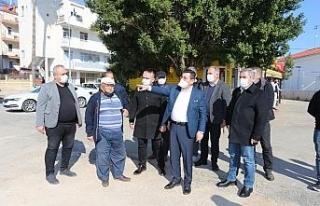 Kepez Belediye Başkanı Tütüncü, taksici esnafı...