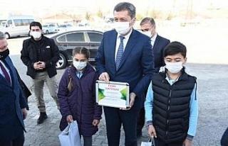 Milli Eğitim Bakanı Ziya Selçuk, Çorum'da aşılama...
