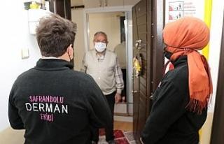 """Safranbolu Belediyesi'nin """"Derman"""" ekibi vatandaşın..."""