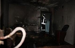 Sobayı tutuşturmak isterken yangın çıkardı:...