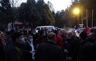 Taciz iddiasını duyan köylüler toplandı, kalabalığı...