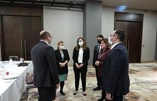 TARSİM'den Azerbaycanlı heyete 'Tarım Sigortaları...