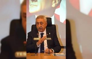 """TESK Genel Başkanı Palandöken: """"Esnafa verilen..."""