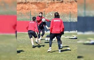 Uşakspor'da Hekimoğlu hazırlıkları devam etti