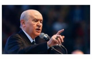 Bahçeli: MHP'ye faşist diyen Türklüğün ve...