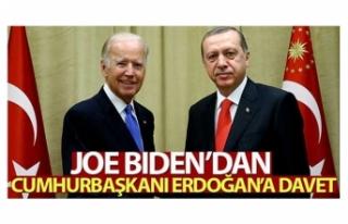 Biden'dan Cumhurbaşkanı Erdoğan'a İklim...