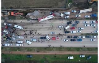 Bursa'da korkunç kaza: 3 ölü 9 ağır yaralı