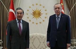Cumhurbaşkanı Erdoğan, Çin Dışişleri Bakanı'nı...