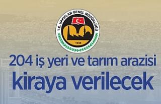 İzmir'de Vakıflar Bölge Müdürlüğüne ait...