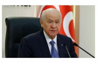 MHP Genel Başkanı Bahçeli'den Soylu'ya...