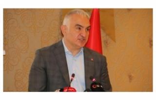 Bakan Ersoy: Mayıs sonuna kadar tüm turizm çalışanları...