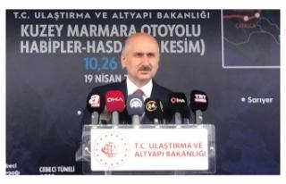 Bakan Karaismailoğlu'ndan Kanal İstanbul ile...