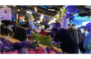 Bursa'da 3 günlük kısıtlama öncesi vatandaşlar...