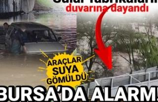 Bursa'da korkulan oldu! Sağanak yüzünden dereler...