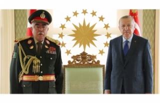 Cumhurbaşkanı Erdoğan, Mareşal Raşid Dostum'u...