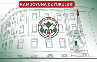 Giresun Belediyesi yöresel ürün satış pazar projesi...