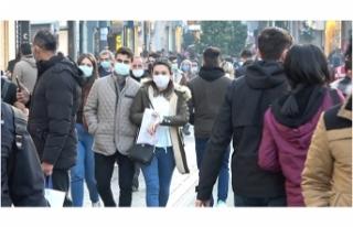 Taksim'de sokağa çıkma kısıtlaması öncesi...