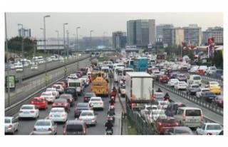 Trafikteki toplam taşıt sayısı 311 bin 799 arttı