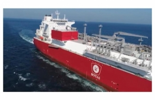 Türkiye'nin ilk doğalgaz depolama gemisi Hatay...