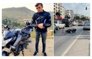 Yolcu otobüsüyle çarpışan motosikletli öldü