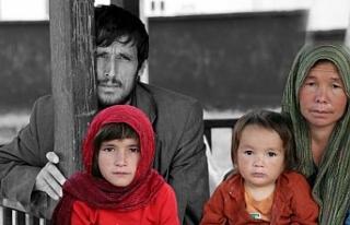 Afgan göçmenler parklarda yatıp kalkıyor